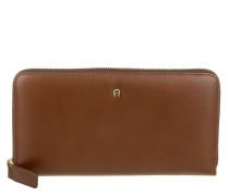 Wallet Large Cognac Portemonnaie cognac