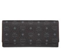 Kleinleder - Color Visetos Three Fold Large Wallet Black