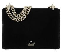 Marci Watson Velvet Bag Black