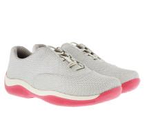 Bike Sneakers Cotton Silver/White Sneakers