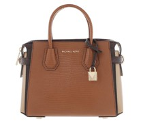 Satchel Bag Belted Small Luggage Multi