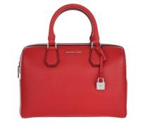 Tasche - Mercer MD Duffle Bag Leather Bright Red - in rot - Henkeltasche für Damen