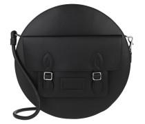 Umhängetasche Shopping Bag Leather Black