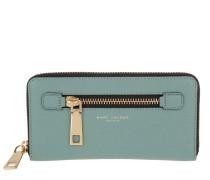 Gotham Standard Continental Wallet Dolphin Blue Portemonnaie