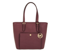 Jet Set Item MD TZ Snap Pocket Tote Plum lila