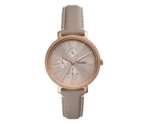 Uhr Jacqueline Multifunction Leather Watch