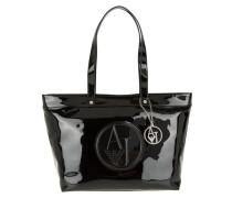 Tasche - PVC Logo Shopper Black