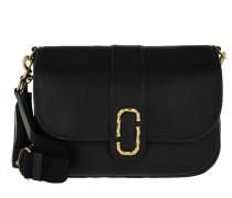 Interlock Courier Bag Black Satchel