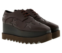 Elyse Platform Sneakers Brown Sneakers