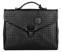 Handtasche - Men's Briefcase Cartella Intrecciato Black