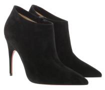 Pumps Gorgona 100 Ankle Boots Suede Black