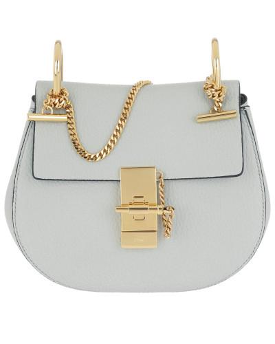 933debaf396a7 Chloé Damen Drew Shoulder Bag Small Calf Leather Airy Grey Tasche Beliebt  Und Billig Sat Extrem