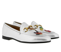 New Joordan Loafer Silver Schuhe