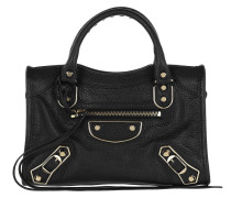 Metal Edge Classic Mini City Tote Black Umhängetasche