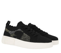 Sneakers Sky Knit Lace Up Black