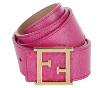 Kleinleder - Cintura Fibbia Vitello Elite Ciclamino