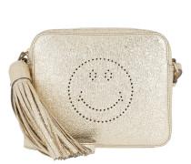 Smiley Bag Crinkled Metallic