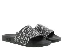 Schuhe Diagonal Logo Slide Black