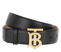 Gürtel TB Logo Belt Leather