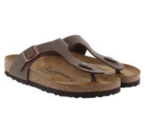 Gizeh BS Nubuk Regular Fit Sandal Mocca Sandalen