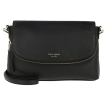Umhängetasche Polly Large Convertible Flap Crossbody Bag Black