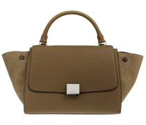 Trapeze Satchel Bag Small Moss Green