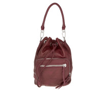 Tasche - Shibata Slouchy Leather Bag Ruby