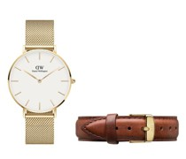 Uhren Evergold 36mm + St.Mawes Strap