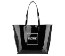 Tote Logo Shopping Bag Nero