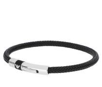 Armband Bracelet Rubber Inlay 2 EGS1624001 Black