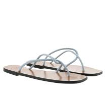 Sandalen Flat Sandal Light Blue