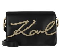 K/Signature Shoulderbag Black