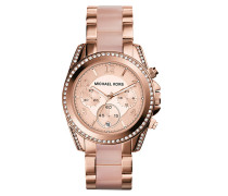 Blair Watch Chronograph Rose -Tone Armbanduhr