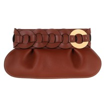 Clutch Darryl Leather Sephia Brown