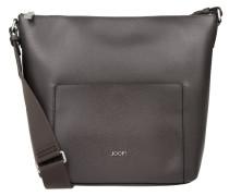 Kassandra Shoulder Bag Large Grano Dark Grey Umhängetasche grau