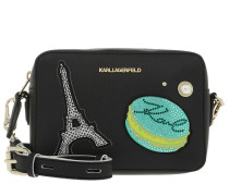 Paris Camera Bag Black Umhängetasche