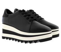 Elyse Platform Sneakers Black Sneakers
