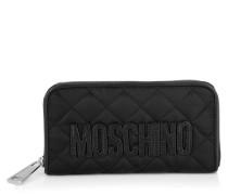 Kleinleder - Nylon Zip Around Wallet Black