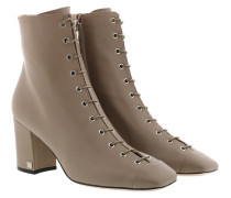 Boots Leather Light Grey