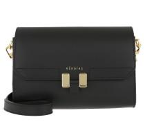 Umhängetasche Lilia Tablet Mini Black/Black Lavagna/Gold