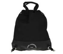 Rucksack Rue St Guillaume Flat Backpack Nylon Black