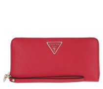 Portemonnaie Becca Wallet Large Zip Around Red