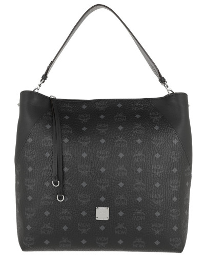 Hobo Bag Klara Visetos Hobo Large Black schwarz