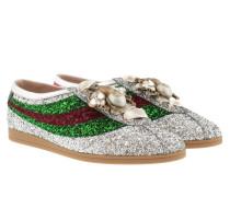 Metallic Cristal Sneakers Silver Sneakers
