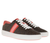 Sneakers Irving Stripe Lace Up Brown