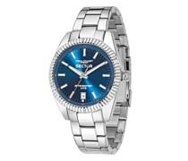 Uhren 240 41Mm 3H Blue Dial Bracelet SS Case