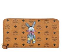 Rabbit Zip Around Large Wallet Cognac Portemonnaie