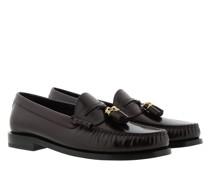 Schuhe Luco Loafer Calfskin Dark Burgundy