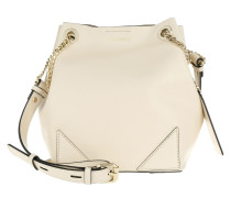 K/Slouchy Small Drawstring Creme Beuteltasche