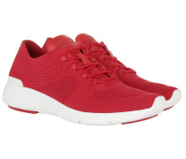 Skyler Trainer Fabric Sneakers Bright Red Sneakers rot